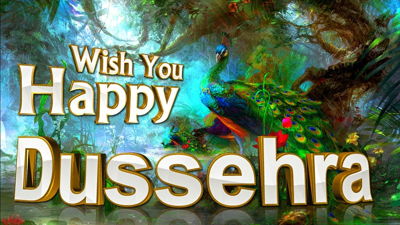 Happy dussehra 2017best wishes greetings card 3d animation youtube happy dussehra 2017best wishes greetings card 3d animation m4hsunfo