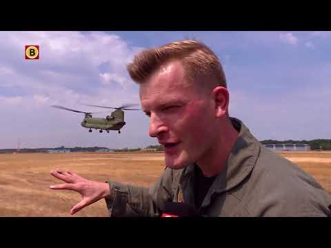 Chinooks op Vliegbasis