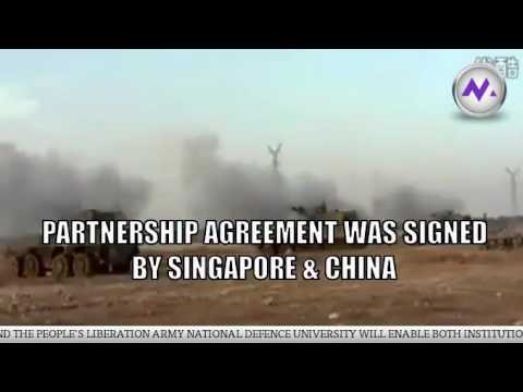 Singapore Army signs partnership with Chinese defence military institute (SG)