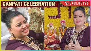 Bharti Singh BLUSHES On Baby Planning | Ganpati Celebrations 2019 | EXCLUSIVE INTERVIEW