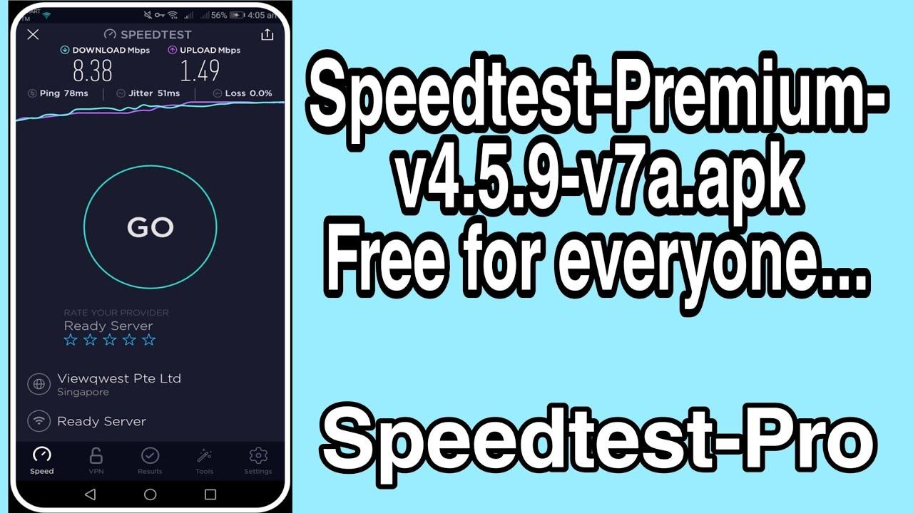speedtest pro apk