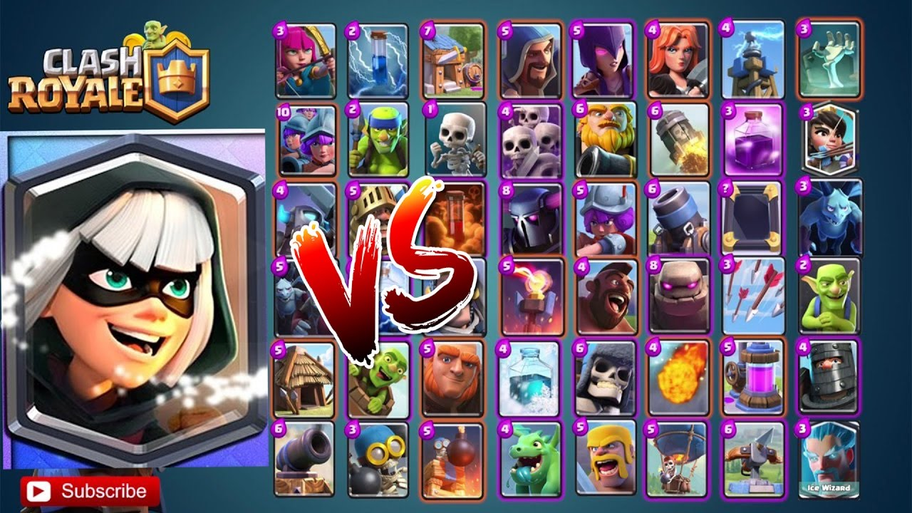 New Bandit Vs All Cards In Clash Royale Bandit 1 On 1