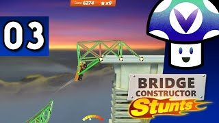 [Vinesauce] Vinny - Bridge Constructor Stunts (part 3)