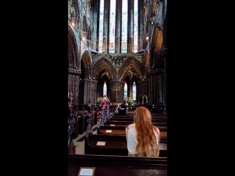 Glasgow Cathedral organ practice