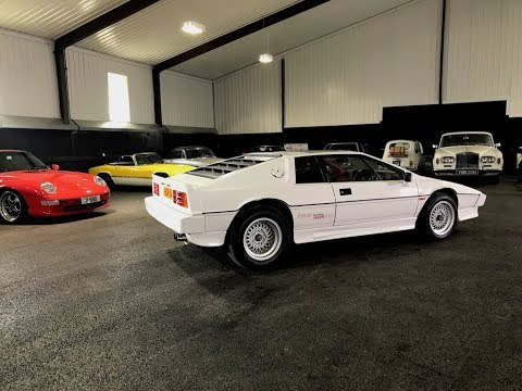 87 Lotus Esprit Turbo HC S3 real-world review.