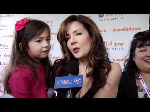 Maria Canals-Barrera Talks 'Wizards of Waverly Place' Finale At Lollipop Theater Network Event