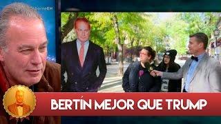 Las jóvenes españolas confunden a Bertín Osborne con Donald Trump - El Hormiguero 3.0