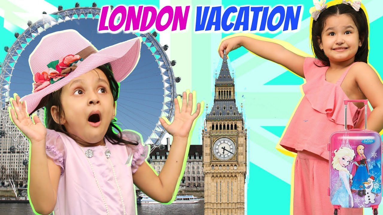 Kids PRETEND Play VACATION Travel | Fun LONDON Vacation | ToyStars