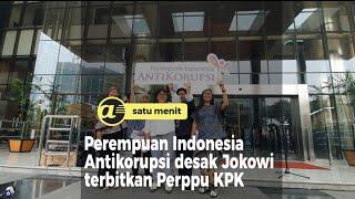 Perempuan Indonesia Antikorupsi desak Jokowi terbitkan Perppu KPK