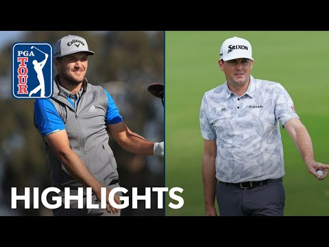 Highlights   Round 1   Farmers Insurance Open 2020