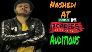 Nashedi at Roadies Revolution audition stand-up comedy by Disshuboy Dk | Roadies audition 2020