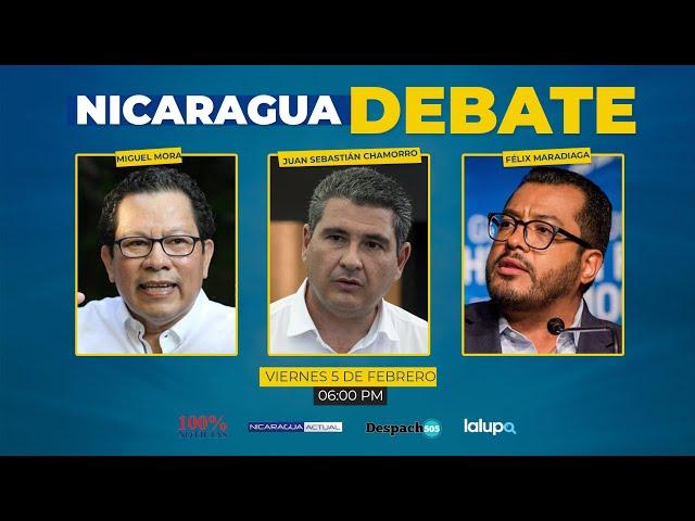 Nicaragua Debate: cara a cara en un encuentro digital