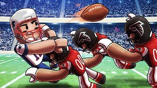 Roblox | NFL FOOTBALL: Patriots gegen Falcons! (Roblox NFL Adventures)