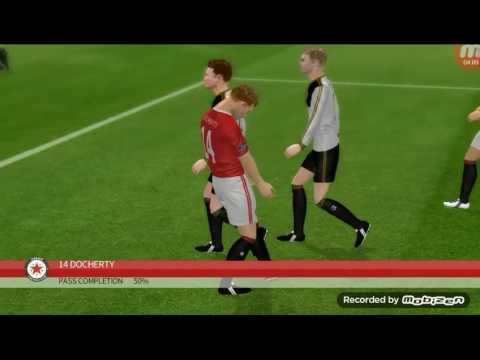 Dva gola iz živog zida!!!Dream league soccer 16