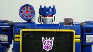 Video Transformers Masterpiece Soundwave MP-13 Destron Communications Figure Review download MP3, 3GP, MP4, WEBM, AVI, FLV Agustus 2018
