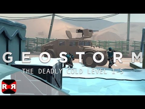 Geostorm (By Sticky Studios) - Afghanistan Level 1-5 - iOS / Android Walkthrough Gameplay
