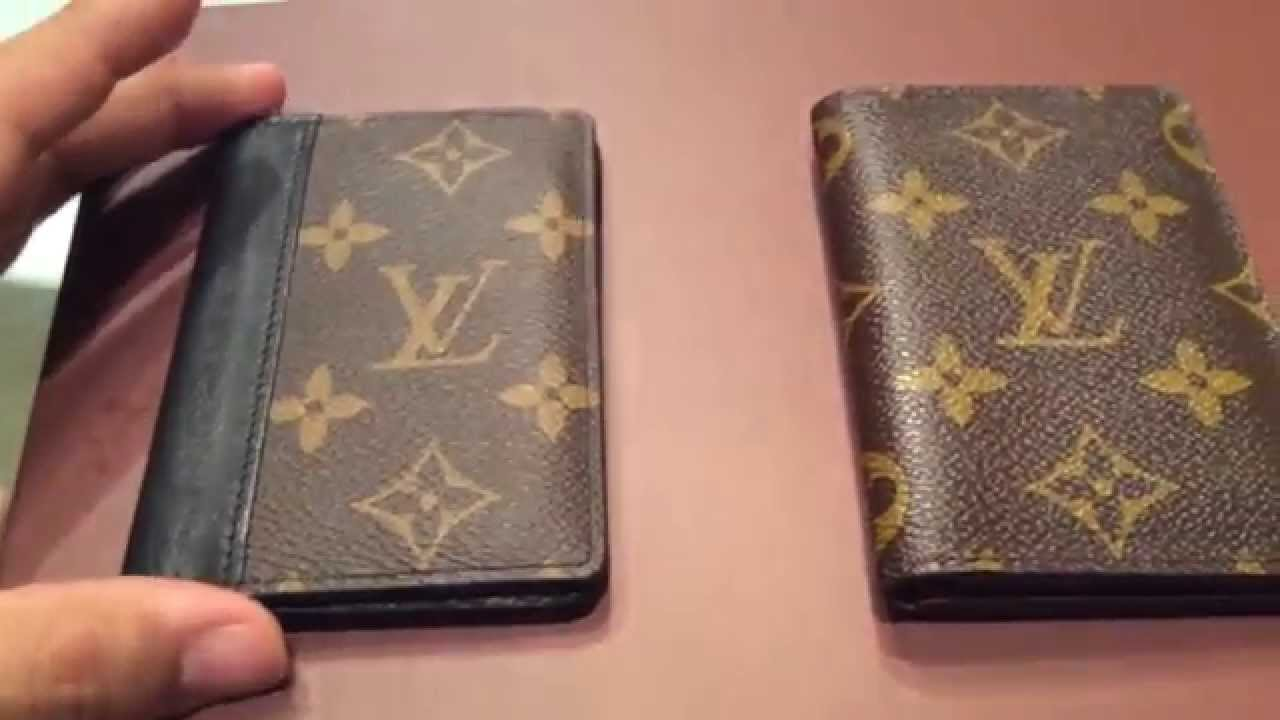 Louis vuitton card holder review macassar wallet youtube reheart Image collections