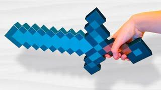 Бумажный Minecraft: Как сделать меч из бумаги?(Где меня найти: ☞ Я Вконтакте: http://vk.com/sh_rs ☞ Группа Вконтакте: http://vk.com/thealexcreative ☞ Instagram: https://instagram.com/sashka5303/..., 2014-11-05T21:56:31.000Z)