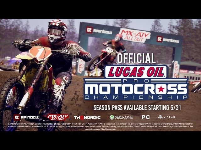 2020 AMA Pro Motocross Championship MX vs ATV Season Pass!