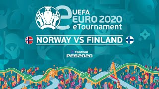 eEURO: Norway v Finland (First Leg)