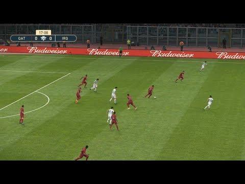 [HD] Qatar vs Iraq | Match Coupe d'Asie 2019 FIFA | 22 Janvier 2019 | PES 2019