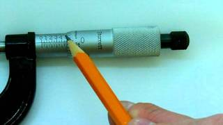 Calibrating and Reading an Inch Micrometer Caliper