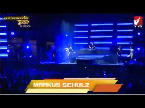 Gabriel & Dresden,Ana Criado & Markus Schulz Live Set, Armada Beach 2013 Buenos Aires.
