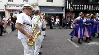 Welcome To Hexhamshire Lasses Morris Dancers Visit Newark-On-Trent (2)