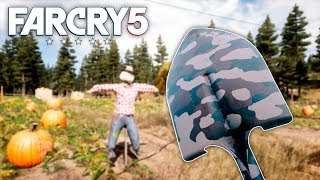 Far Cry 5 - SHOVEL ONLY CHALLENGE (Far Cry 5 Free Roam) #7