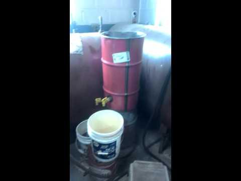 Oil water separator, waste oil