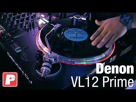 Denon VL12 Prime Direct Drive DJ Turntable