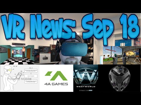 VR News: Sep 18 - Triple AAA VR Will Sell Well - 4A Games To Announce VR Game - Google HMD & More!