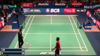 Jan O Jorgensen vs Lee Dong Keun | R1 Indonesia Badminton 2015  New