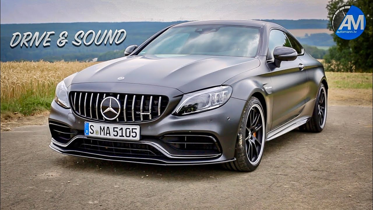 2019 Mercedes Amg C63s Coupe Drive Sound