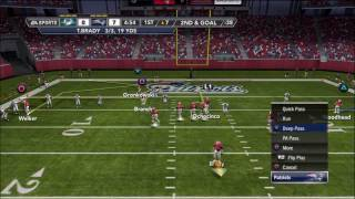 madden 12 online dolphins patriots wtf the wildcat