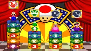 Mario Party 2 - All 4 Player Minigames