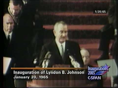 President Johnson 1965 Inaugural Address