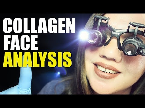 ASMR Collagen and Elastin Analysis RolePlay