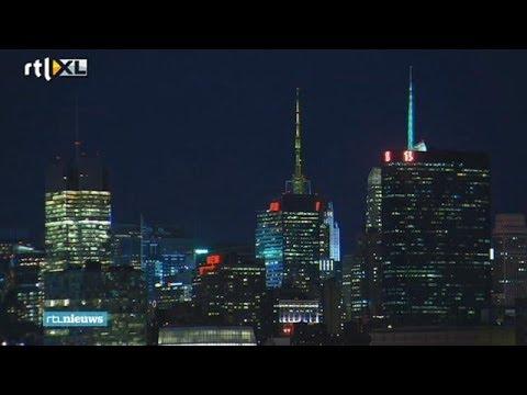 Duizenden dode vogels door lichtshow New York