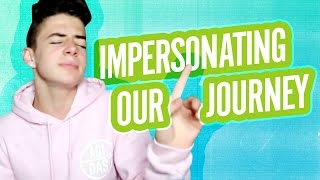 IMPERSONATING OUR JOURNEY | Bruhitszach
