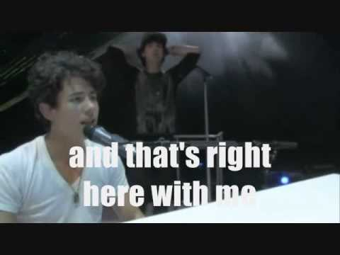 Fly With Me - Jonas Brothers - Official Music Video - LYRICS ON SCREEN (HQ)