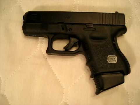 Owner's Report of Glock 26 9mm - review of subcompact pistol