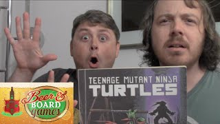 NINJA FIGHT! Teenage Mutant Ninja Turtles 2 (Beer and Board Games)