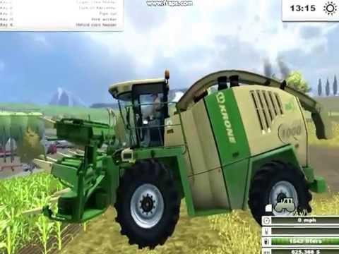 Farming Simulator 2013 Krone Big X 1000