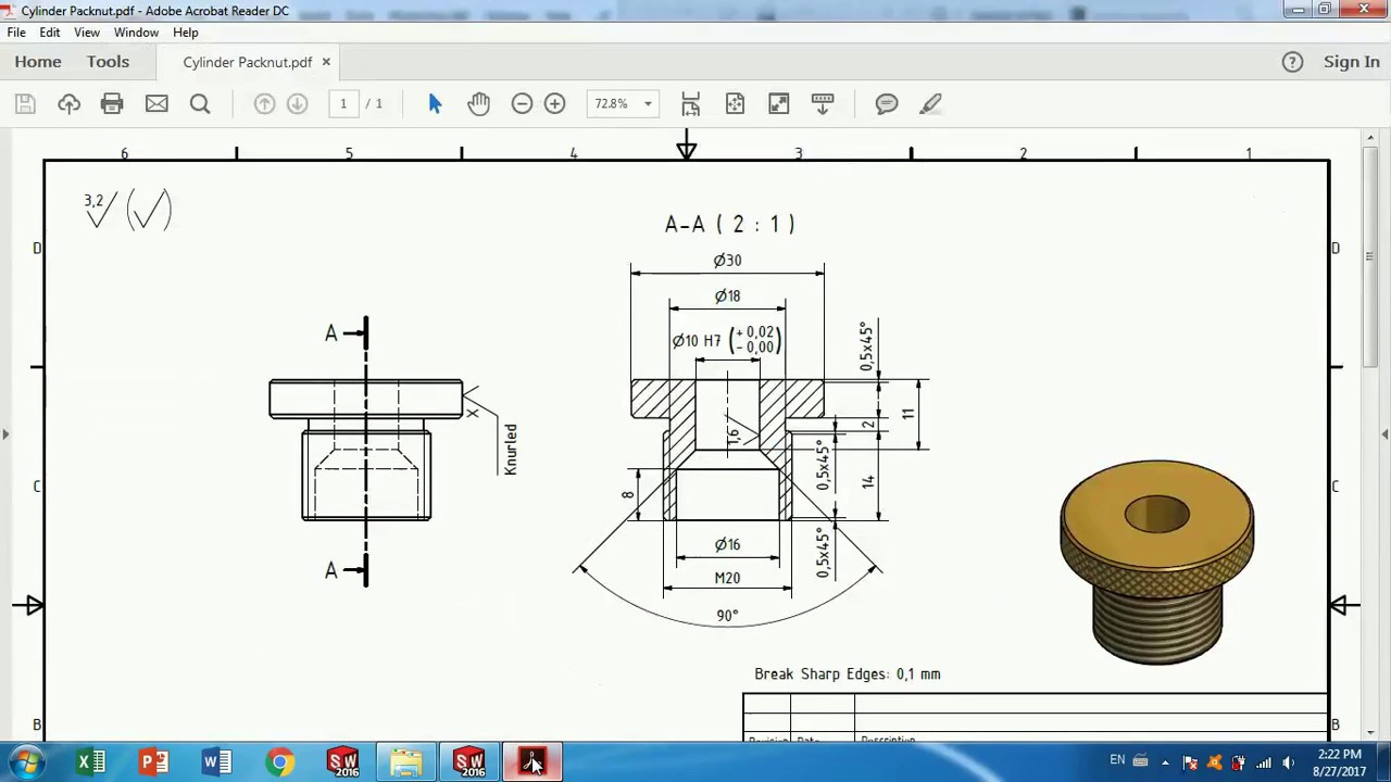 solidworks tutorial how to make vertical twin steam engine part 5 [ 1280 x 720 Pixel ]