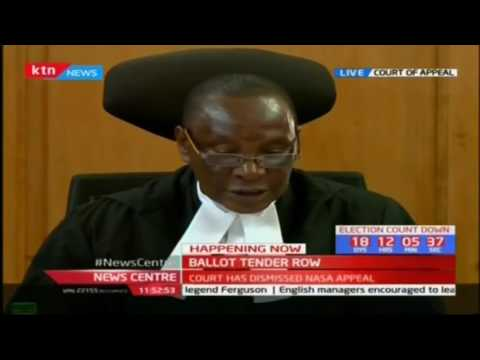 Court of Appeal: IEBC must remain transparent and accountable depite said time constraints
