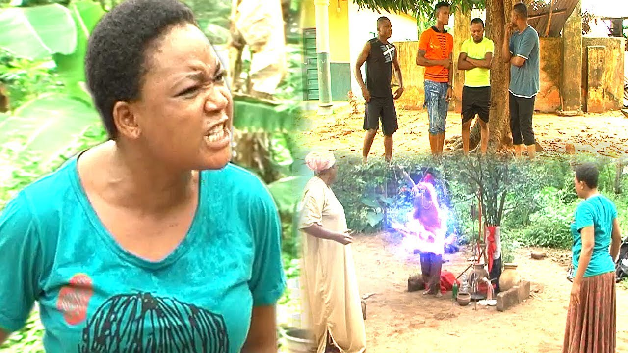 Download THE VILLAGE GIRL NO ONE BORN OF A WOMAN CAN DEFEAT - RACHAEL OKONKWO 2017 latest nigerian movies