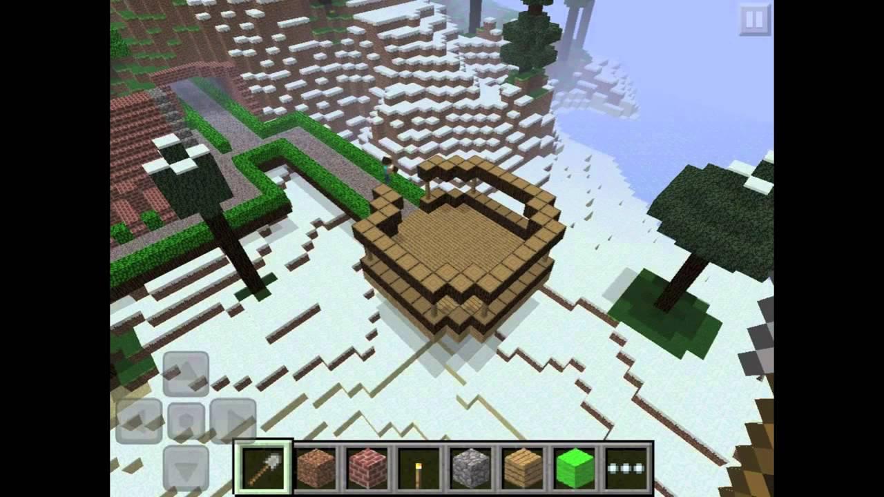 Minecraft Pocket Edition Haus Bauen Mit Zeitraffer YouTube - Minecraft pocket edition hauser bauen