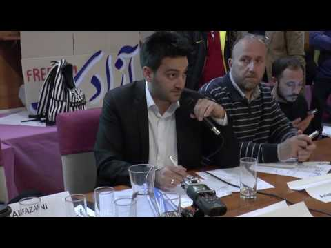 2017-03-15 Mythilene, Lesbos / Refugee Solidarity Assembly - Turkish lawyer about EU Turkey Deal