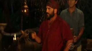 Survivor Heroes vs Villains Russell Gives The Hidden Immunity Idol To Parvati Blindsides Tyson